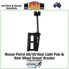 BMR Spare Wheel Spacer Bracket Rear Light Pole Package fit Nissan Patrol GQ GU