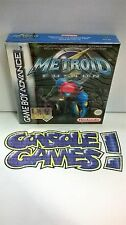 METROID FUSION  GBA GAMEBOY ADVANCE NUOVO SIGILLATO NEW SEALED
