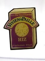 Pin's vintage Collector publicitaire VIVIEN PAILLE RIZ Lot M111