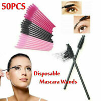 Disposable Mascara Wands Eyelash Brushes Applicator Lash Brush Wands 50pcs