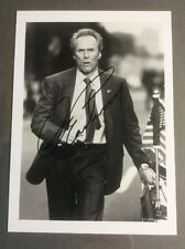 CLINT EASTWOOD, hand signed photo In The Line Of Fire