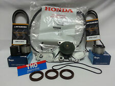 GENUINE TIMING BELT + DRIVE BELT & NPW WATER PUMP KIT HONDA/ACURA V6 #3