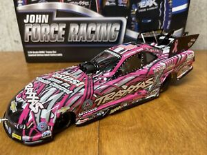 """2015 NHRA  Courtney Force  """"PINK TRAXXAS"""" Chevy Camaro Funny Car 1/24 Action"""