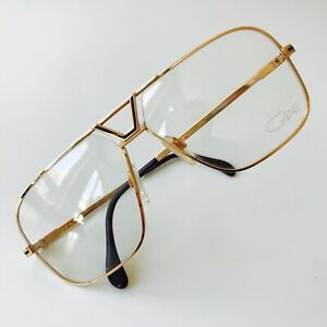 NOS vintage CAZAL 725 glasses col 97/014 gold W.Germany LARGE rare 735 1980s