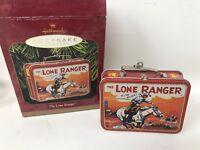1997 Lone Ranger Lunchbox Hallmark Keepsake Christmas Xmas Ornament Model QX6265