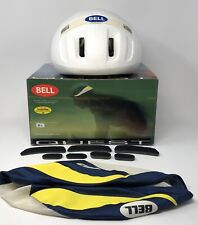 VTG Bell 1990 Quest Bicycle Helmet M/L Classic Model Cycling Retro Cover Pads
