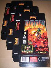 Atari Jaguar 64-bit Konsole Original 3 X Doom Spiel Packung New P/n J9029e