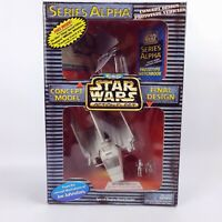 1997 GALOOB STAR WARS ALPHA SERIES ACTION FLEET MICRO MACHINES  IMPERIAL SHUTTLE