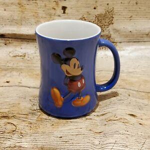 VTG Disneyland Paris Mickey Mouse 3D Blue Shadow Exclusive 11cm tall x 8.5cm Mug