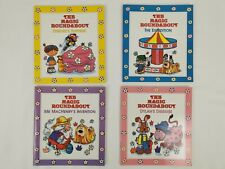 The Magic Roundabout - Vintage 4 Board Books in Square Case + 2 Spares