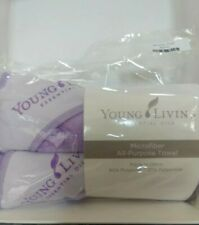 Young Living Microfiber Towels(2) Brand New