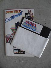Vintage 1987 Data East Ikari Warriors Floppy Disk & 1989 Game Catalog