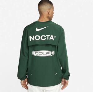 Nike X Drake NOCTA Golf Crewneck Top Pro Green Golf Crew Medium