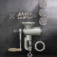 Hachoir à Viande Manuel Multifonctions Machine Saucisse Outil cuisine Accessoire