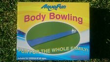 Aquafun Slip n Slide Body Bowling water slide over 6 mtrs long with rain shower