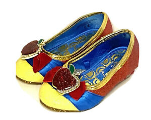 Toddler Snow White Dress Up/Halloween Costume Shoes Size 7/8