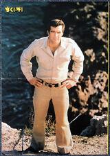 Six Million Dollar Man Steve Austin década de 1970 Cartel. Bionic. 6D