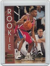 1996-97 TSC Rookie #R16 Allen Iverson RC Rookie Philadelphia 76ers