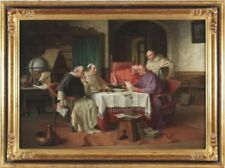 Dealer or Reseller Listed Figures Original Art Paintings