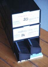 3 x KINDERMANN LKM Diakasten mit je zwei 80er- Diamagazinen; sehr guter Zustand!