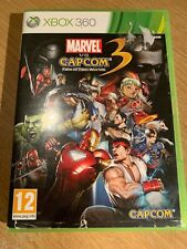 Xbox 360 Marvel vs Capcom: Fate Of Two Worlds 3 Game- New And Unsealed