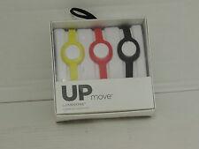 Up Move Jawbone  Wrist Strap (onyx/yellow/ruby)