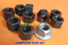 "Mopar Dana 60 9¾"" Rear Wheel Bearing Retainer LOCKNUTS Dodge Plymouth Chrysler"