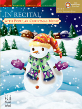 In Recital with Popular Christmas Music, Book 4 - Piano Songbook FJH1764