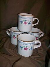 5 PFALTZGRAFF BONNIE BRAE TEACUPS COFFEE MUGS
