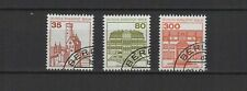 1982 Allemagne Berlin chateaux 3 timbres oblitérés/T2253