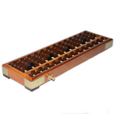 Japanese Soroban Style Wooden Abacus Frame Beads Classic Ancient Calculator new