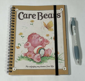 New Care Bears Pen (Black Ink) And Cheer Bear Notebook