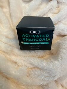 BQ Activated Charcoal Teeth Whitening Powder From Coconut 100% Natural 2.1 Oz