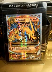 Pokemon Card  - MEGA CHARIZARD EX  Ultra Rare - XY Evolutions  13/108 *Mint*