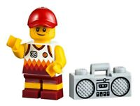 LEGO City Beach Boy Kid Child Minifigure With Boom Box Radio