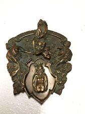 """Vintage """"Order Of The Jester"""" Bronze Plaque/Door Sign"""