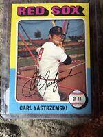 1975 TOPPS BASEBALL #280 CARL YASTRZEMSKI  RED SOX  NEARMINT++