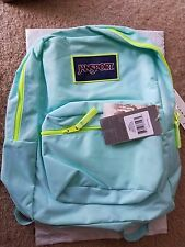 Genuine JanSport Overexposed   Aquadash / Yellow Backpack T08WZR7