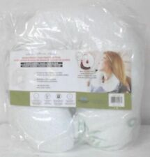 NEW Valencia Collection Elegance U Shape Bamboo Memory Foam Travel Neck Pillow