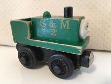 Thomas Train Neil S & M 2 Wooden Engine Vintage 1999 Britt Allcroft