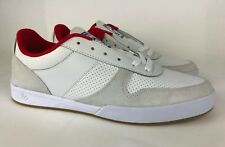 eS Contract Tom Asta White & Red Skate Shoes White -Mens US Size 11