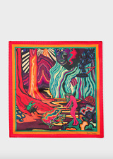 Paul Smith Pocket Square -BNWT Multi-Coloured 'Dreamer' Handkerchief 100% SILK