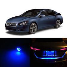 Blue LED License Plate Lights For Nissan Maxima 1995-2014 2010 2011 2012 2013