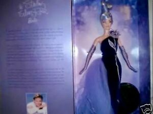 The Sterling Silver Rose Barbie by Bob Mackie MIB!!