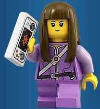 Genuine LEGO Ava Minifigure - Comes with Game Pad