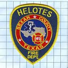 Fire Patch - Helotes Bexar County texas