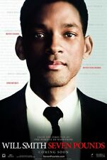 SEVEN POUNDS - 27x40 Original Movie Poster One Sheet - MINT Will Smith 2008