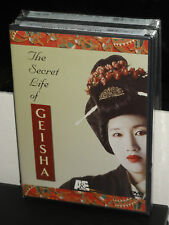 The Secret Life Of Geisha (DVD)  Educational! World History/Culture! BRAND NEW!