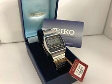 Seiko C359-5000 Calculator Chrono Alarm  Quartz LCD Vintage Watch