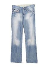 Vintage Diesel Mid Waist Straight Leg Boyfriend Jeans W28 L32 Ice Blue - J398...